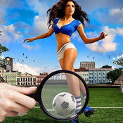 找 和 点 该 差异 足球 足球 星 1