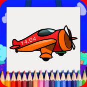 飞机图画书为孩子们免费 1