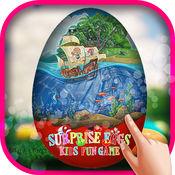 出奇蛋孩子好玩的游戏 - 免费儿童蛋惊喜与朋友的冒险游戏
