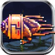 船舶和火箭自由 - 复古像素艺术TD街机水下射击游戏 1.1