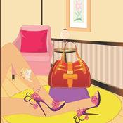 鞋时尚女孩游戏...