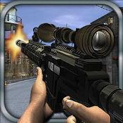 特警与恐怖分子枪战 1