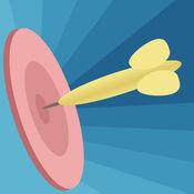 在拍摄飞镖圈 - 顶级夏普射手的目标游戏 1.5