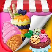 甜蜜的糖果壁纸 – 五颜六色的棉花糖和棒棒糖主题背景 1