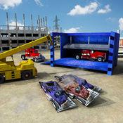 怪物卡车式破碎机自卸吊车驾驶模拟器 1