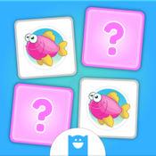 Pairs Match Kids - 儿童对对碰 - 训练大脑的趣味游戏 (No