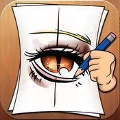 学画画的眼睛...