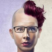 搞笑发型 改头换面 男士和女士  1