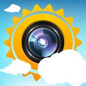 Weather-Snap - 共享 你天气预报的图片 1