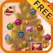 圣诞树和卡片 Free 1