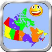 加拿大地图拼图 1.2