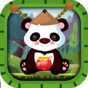 熊猫老师 - 一个极端的动物忍者摆动和收集游戏 1