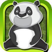 熊猫福跑短跑 - 硬币收集生存条命 1