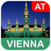 维也纳,奥地利 离线地图 - PLACE STARS v1.1