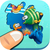 探索海洋 - 休闲游戏的男孩和女孩的学习海洋动物 1.2
