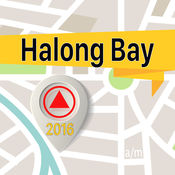 Halong Bay 离线地图导航和指南 1