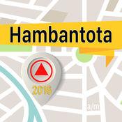 Hambantota 离线地图导航和指南 1