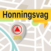 Honningsvag 离线地图导航和指南 1