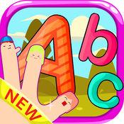 字母拼图游戏 - 为孩子和幼儿免费 1