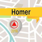 Homer 离线地图导航和指南 1