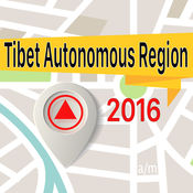 西藏自治区 离线地图导航和指南 1
