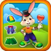 可爱的蹦蹦兔宝宝兔 - 装扮游戏的孩子 - 免费版 1
