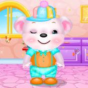 可爱的小熊沙龙...