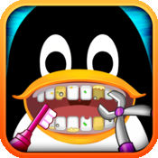 业余 牙医 免费: 疯狂 牙科 俱乐部 为 女生 球员 & 企鹅 - 手术 游戏