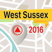 West Sussex 离线地图导航和指南 1