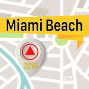 迈阿密海滩 离线地图导航和指南 1
