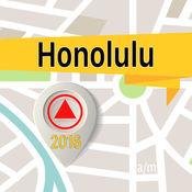 檀香山 离线地图导航和指南 1