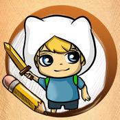 学画画Adventure Time 版 1