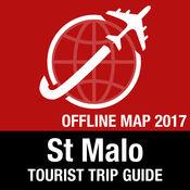 St Malo 旅游指南+离线地图 1