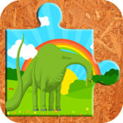 恐龙雷克斯拼图...