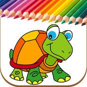 幼儿涂鸦书 - 儿童彩页 1