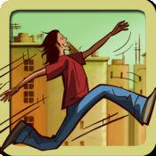 跑酷跑 - 冷面奥兹自由式屋顶跑步(免费游戏) 1