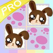 和可爱的宝贝宠物 Pro 赤壁记忆游戏是为学龄前儿童而设的