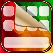 彤彤键盘符號表情 – 霓虹灯字体和贴纸的iPhone免费 1