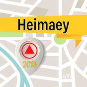 Heimaey 离线地图导航和指南 1