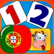 宝贝 匹配和学习 - 在葡萄牙的数字 1