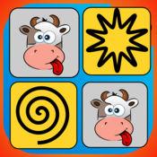 宝宝记忆的天才 - 有趣的农场动物 1.3
