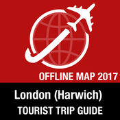 London (Harwich) 旅游指南+离线地图 1