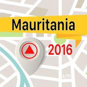 毛里塔尼亚 离线地图导航和指南 1