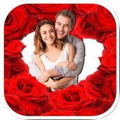 爱的图片框-创建明信片与浪漫的爱情图片 1