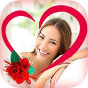 照片编辑之爱情相框 - 用来编辑浪漫爱情相片的照片编辑器,把你爱的图片用相框制作