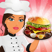 烹饪游戏汉堡热...