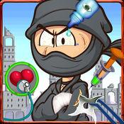 忍者博士沙龙 - 免费疯狂外科医生诊所和打扮美容院游戏的