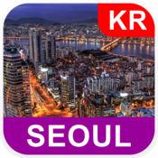 韩国首尔, 离线地图 - PLACE STARS v1.1