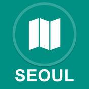 韩国首尔 : 离线GPS导航 1