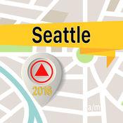 西雅圖 离线地图导航和指南 1